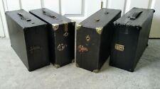 More details for his master's voice hmv gramophones x4 portable picnic