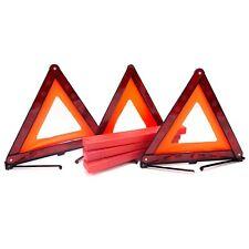 Triangle Warning Foldable Signage Emergency Reflector Roadside Safety Tool 3Pack