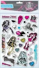 CHARACTER Monster High Puffy Sticker A4 Sheet Party bag