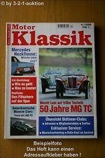 Motor Klassik 4/95 MG TC DB Camaro Challanger Hemi