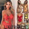 UK Womens Summer Beach Bikini Set Ladies 2 PCS Holiday Swimwear High Swimsuit