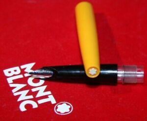 CARRERA 522 MONTBLANC Patronen Füller Orange Schwarz  ca 70ger Jahre
