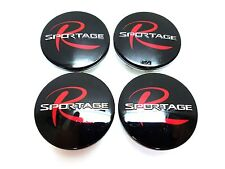 4 PCS 60mm Wheel Center Hub Caps Cover Badge Emblem R Type For 11~ Kia Sportage