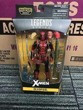 marvel legends deadpool from juggernaut wave  x men legends
