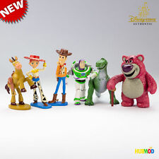 New Loose Toy Story Movie 6-Figure Play Set Cake Topper Woody Buzz Lotso Jessie