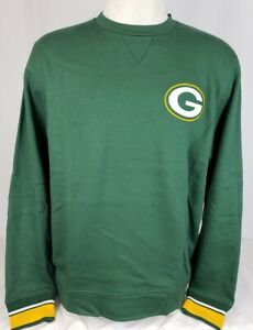 Brand New Majestic Men's NFL Green Bay Packers Pullover Sweatshirt