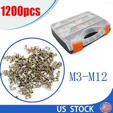 1200pcs Threaded Nut Rivet Tool Riveter Rivnut Nutsert Gun Riveting Kit M3 M12