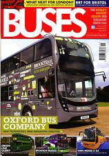 BUSES 716 NOV 2014 London,Oxford Bus Co,Ipswich,Euro Bus Expo,IAA Show,Showbus