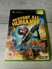 Destroy All Humans Microsoft Xbox Complete With Manual