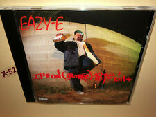 EAZY-E of NWA solo CD ep ITS ON DR DRE 187um KILLA g-mix BOYZ N THA HOOD n.w.a.