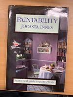 "5044cmPAINTABILITY"" Jocasta Innes Canal 4 TV Serie Pesado Tapa Dura Libro ( Xx)"