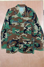 Size Large Mens BDU Shirt Jacket Coat Woodland Camo L US USGI Army Green Field 2