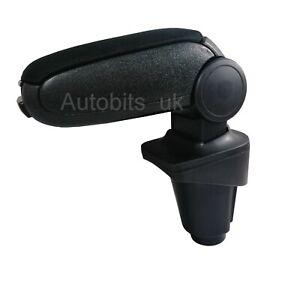 For Fiat 500L 2012 - 2018 Car Armrest Arm Rest + Assembly Set Black Textile