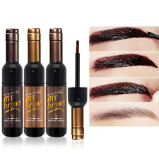 Waterproof Lasting Eyebrow Cream Dark Brown Black Brown Dye Cream Tatoo Makeup