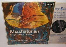 SXL 6001 Khachaturian Symphony No.2 The Bell VPO Khachaturian ED1 WBG HP TAS