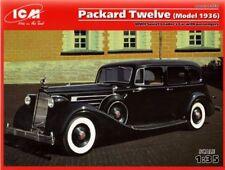 ICM 1/35 Packard Doce Modelo 1936 II GUERRA MUNDIAL Soviético Leaders Coche #