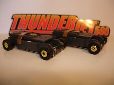 Auto World ~ 2 New GOLD Rim Thunder-Jet Ultra G Chassis ~ FITS Aurora , AW, JL