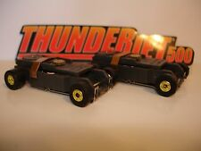 Auto World ~ 2 New GOLD Rim Thunder-Jet Ultra G Chassis ~ FITS Aurora , AW, JL