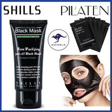 SHILLS Face Mask Nose Blackhead PILATEN Pore Deep Remover Cleansing Strip Black