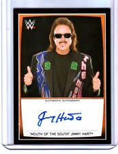 WWE Jimmy Hart 2015 Topps Road To WrestleMania Authentic Autograph Card
