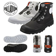 Palladium Mens Pampa Lite Overlab Canvas Walking Hiking Ankle Boot Sneaker