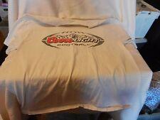 Men's Coors Light Football Logo on White T-shirt Medium