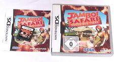 Spiel: JAMBO SAFARI RETTE TIERE für den Nintendo DS + Lite + Dsi + XL + 3DS 2DS