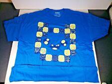 Adventure Time Tagless T-Shirt Blue Men's 2XL/XXL - Loot Crate Brand NEW
