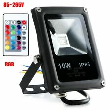 10W LED Flood Light IP65 Outdoor Garden Landscape Yard Warm White/White/RGB Lamp