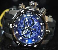 Invicta Men's Rare Venom Swiss Reserve Chrono Blue Dial Black Poly Watch 6117