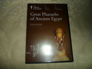 Teaching Company Great Courses: GREAT PHARAOHS OF ANCIENT EGYPT - DVD - EUC
