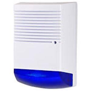 Dummy Burglar Alarm Bell Box - Solar Battery Powered - Dummy Alarm Siren NB