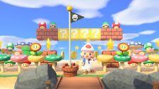 Mega Treasure Island New Horizons! Super Mario + St Patrick Update ACNH: 10 Mins