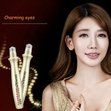 24K Gold Roll-on Hyaluronic Acid Eye Cream Essence Care Anti-Wrinkles Moisturize