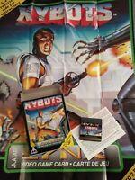 Xybots Atari Lynx Game Cartridge 1991 Complete In Box