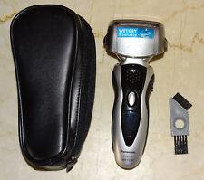 PANASONIC ES8101 Rasoio elettrico Wet & Dry da uomo con custodia da viaggio