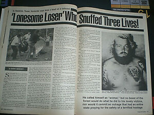 TRUE DETECTIVE Magazine  December 1989 True Crime SEE Story  Photos
