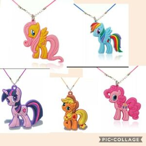 My Little Pony Necklace Jewllery Girls Party Bags Filler