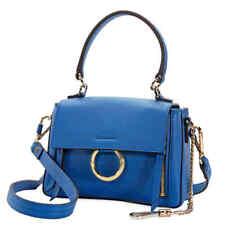 Chloe Mini Faye Day Shoulder Bag- Smoky Blue C18AS140HGJ44X