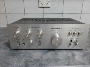 Vintage Stereo Amplifier Kenwood KA-350