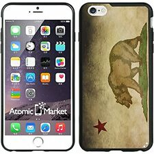 California Flag Grunge For Iphone 6 Plus 5.5 Inch Case Cover