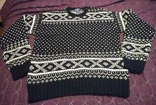 Ralph Lauren POLO Heavy Hand Knit 100% Wool  Sweater Large