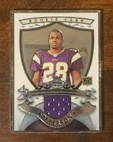 2007 Bowman Sterling Relics Jersey Patch Adrian Peterson RC #BSRR-APE NRMT