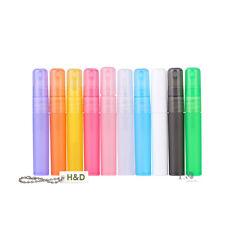 10pcs Plastic Bottle Atomiser Pen Shaped Perfume Spray Travel Bottle Empty 5ml