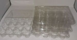25 Yankee Candle Votive/Tart Storage Case Holders Plastic