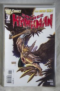 DC Comic The Savage Hawkman (The New 52) Issue #1