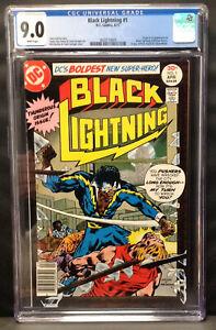 BLACK LIGHTNING #1 (1st Black Lightning) CGC 9.0 #3820114005