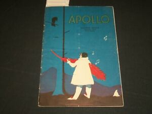1929 HARLEM - APOLLO THEATRE PROGRAM - GEORGE WHITE - J 5667