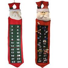 Adventskalender zum befüllen mit Zahlen Weihnachtskalender Nikolaus Advent 108cm