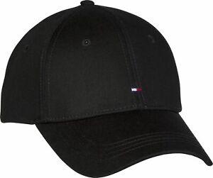 TOMMY HILFIGER Classic BB Cap Cap Accessoire Flag Black Schwarz Neu